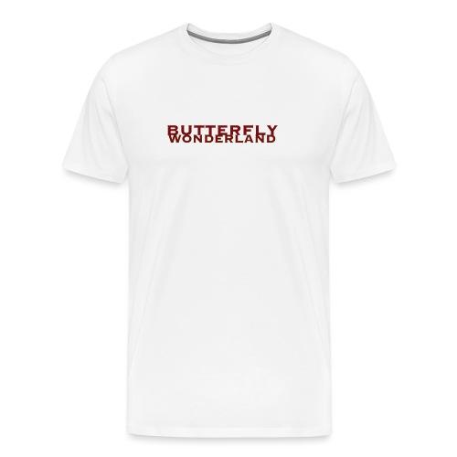 Butterfly Wonderland - Männer Premium T-Shirt