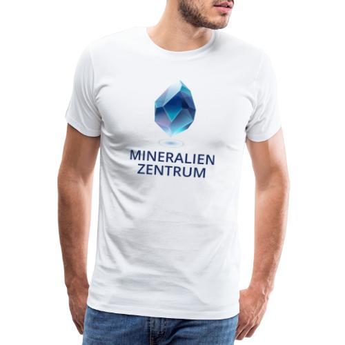 Mineralienzentrum Logo Blau - Männer Premium T-Shirt