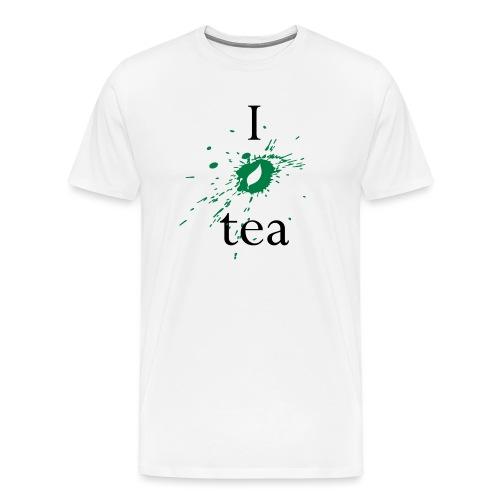 I Love Tea - Maglietta Premium da uomo