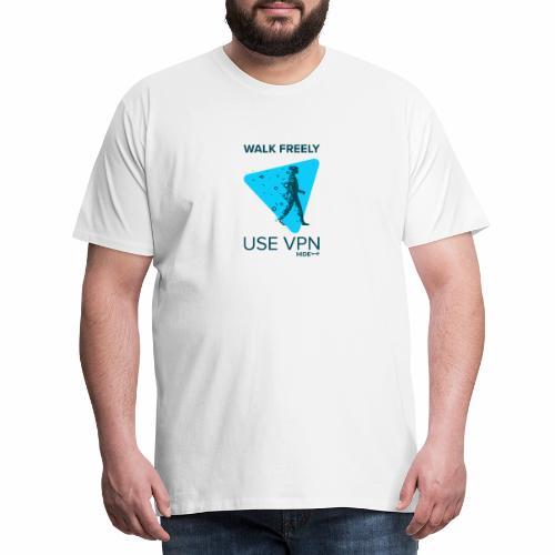 Walk Freely - Men's Premium T-Shirt