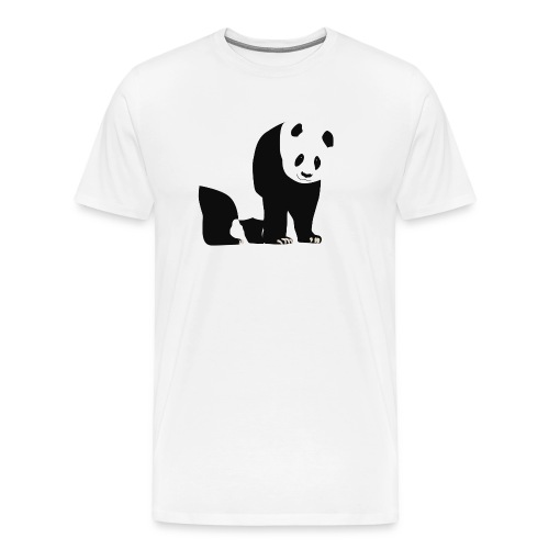 Panda - Miesten premium t-paita