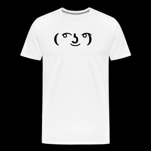 Le Lenny face - Männer Premium T-Shirt
