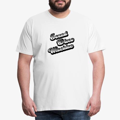 sound disco machine sport - Maglietta Premium da uomo