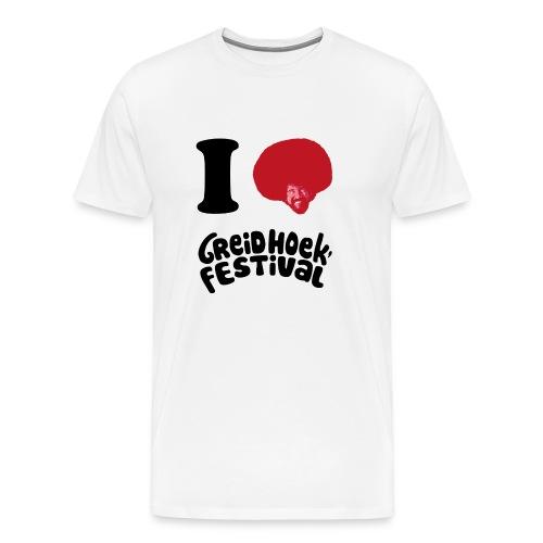i love greidhoek - Mannen Premium T-shirt