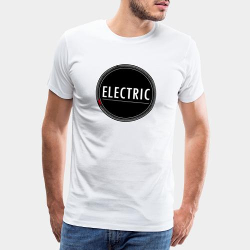 Electric red light - Männer Premium T-Shirt