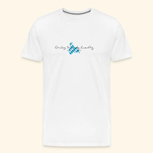 gsz fontdaniel 001obb - Männer Premium T-Shirt