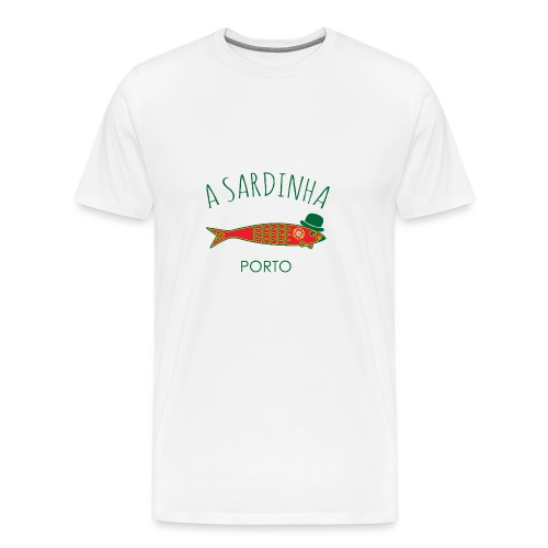 A Sardinha - Band. Porto - T-shirt Premium Homme
