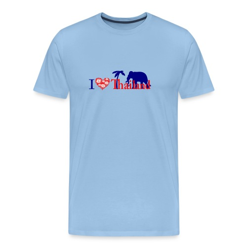 I love Thailand - Men's Premium T-Shirt