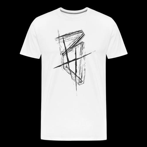 BrettHit_BlackLogo - Men's Premium T-Shirt
