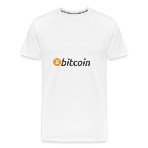 Kryptowährung - Bitcoin - Männer Premium T-Shirt