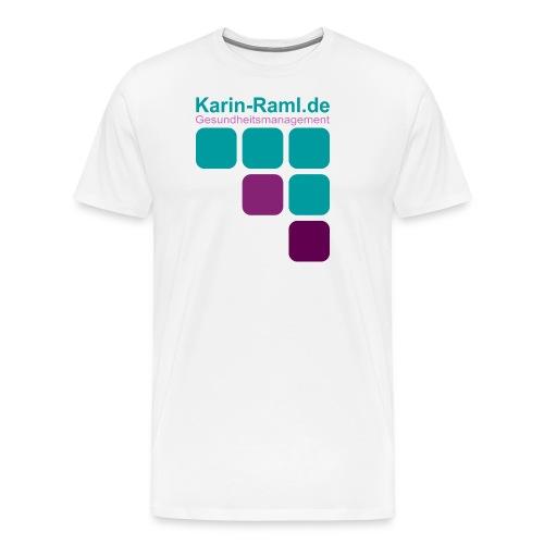 Karin-Raml Gesundheitsmanagement - Männer Premium T-Shirt