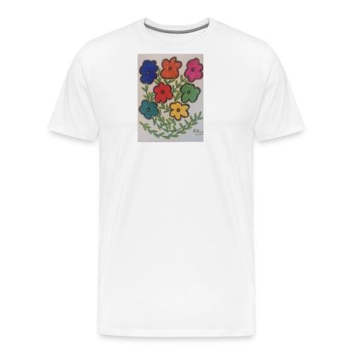 Flores - Camiseta premium hombre