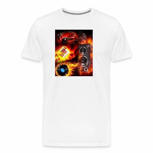 GC Flames - Men's Premium T-Shirt