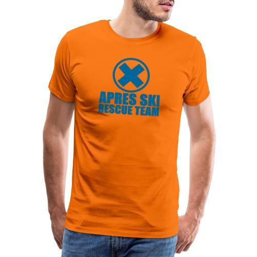 apres-ski rescue team - Mannen Premium T-shirt