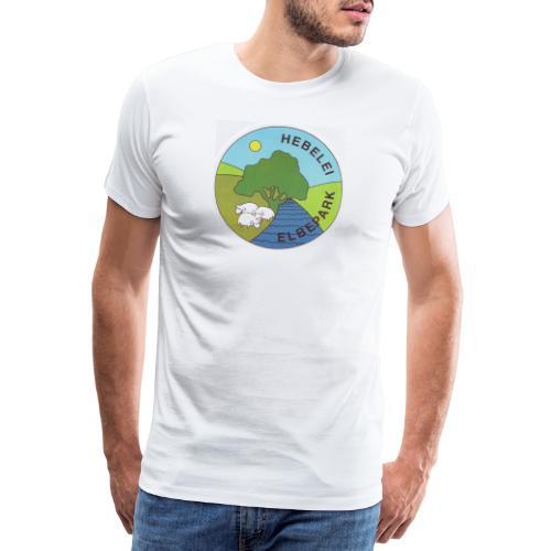 Logo Elbe-Tier-Park Hebelei - Männer Premium T-Shirt