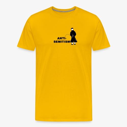 Pissing Man against anti-semitism - Männer Premium T-Shirt