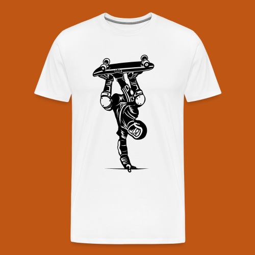 Skater / Skateboarder 02_schwarz - Männer Premium T-Shirt