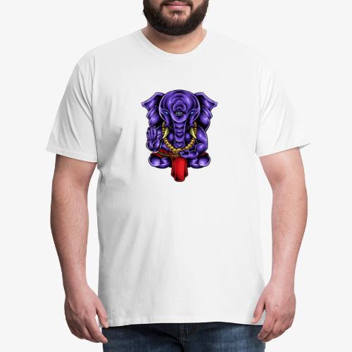Gaṇesh - T-shirt Premium Homme