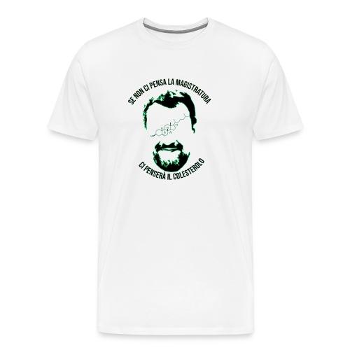ColesterolNee - Maglietta Premium da uomo