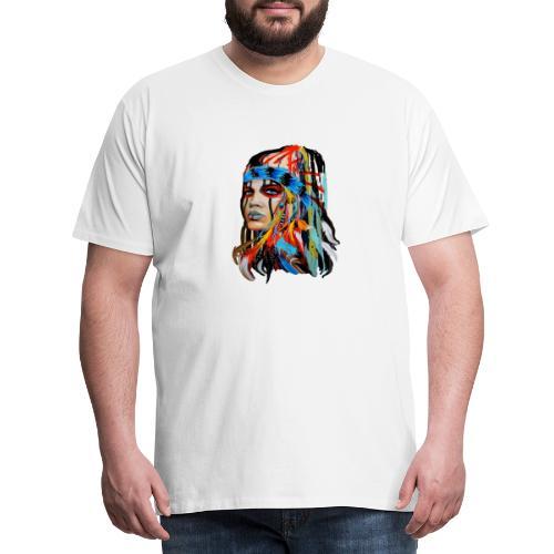 Pióra i pióropusze - Koszulka męska Premium