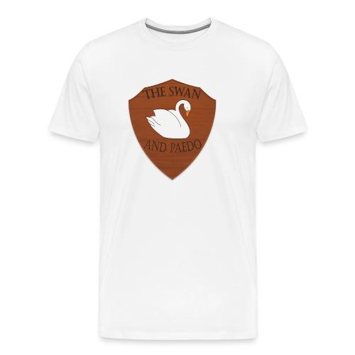 The Swan and Peado Pub - Men's Premium T-Shirt