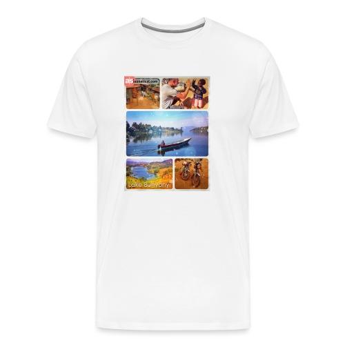 Lake Bunyonyi - Männer Premium T-Shirt