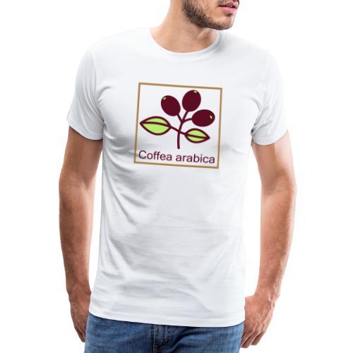 Coffea arabica - Männer Premium T-Shirt