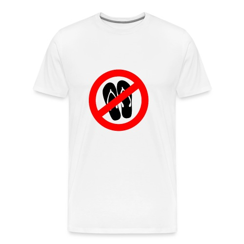 NO_FLIPFLOPS - Men's Premium T-Shirt