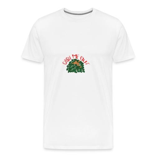 Cash Me Out Teddy - Mannen Premium T-shirt