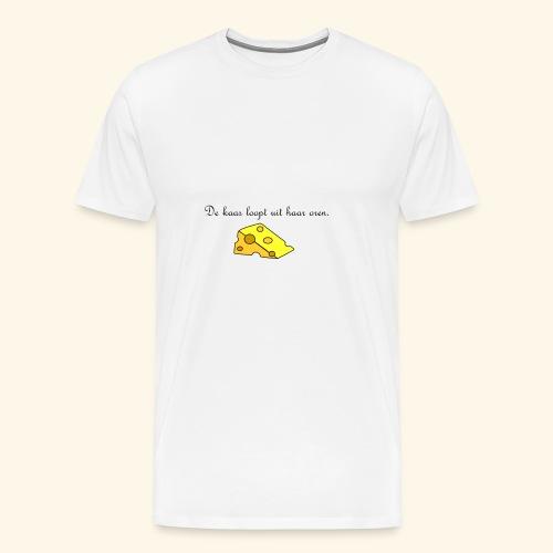 Kaas loopt uit haar oren - Temptation - Mannen Premium T-shirt