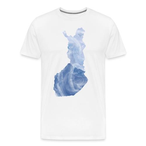 Suomi Finland - Miesten premium t-paita