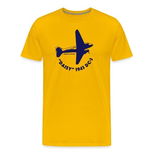 Daisy Flyover 1 - Premium-T-shirt herr
