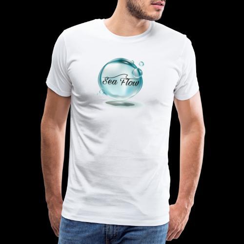 abbigliamento e tazze logo Sea Flow Bolla - Maglietta Premium da uomo