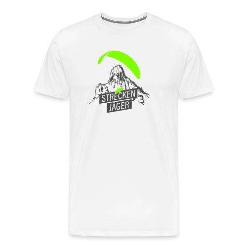 Streckenjäger Gleitschirm - Männer Premium T-Shirt