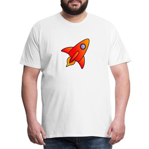 Red Rocket - Men's Premium T-Shirt