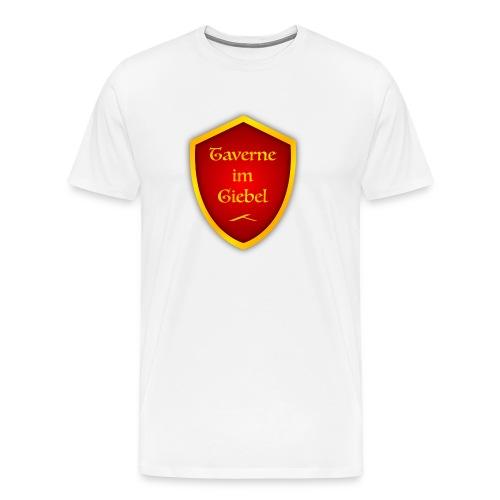 Taverne im Giebel Logo - Männer Premium T-Shirt
