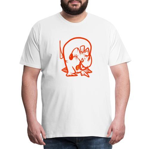 Doggo Zorken - Premium-T-shirt herr