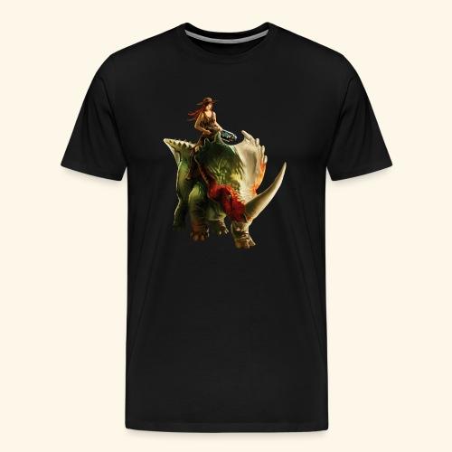 Dino Storm - Men's Premium T-Shirt