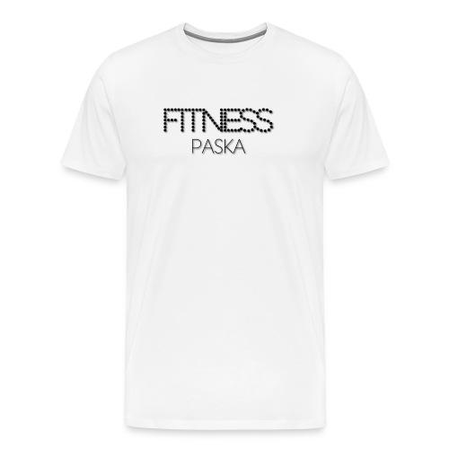 FITNESS PASKA - Miesten premium t-paita