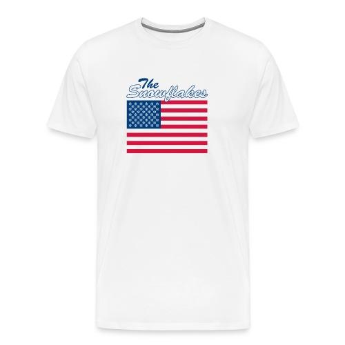 T Shirt of The Snowflakes - Men's Premium T-Shirt