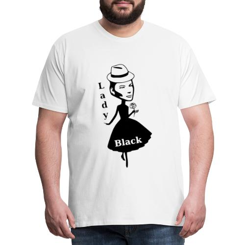 Lady Black - Männer Premium T-Shirt
