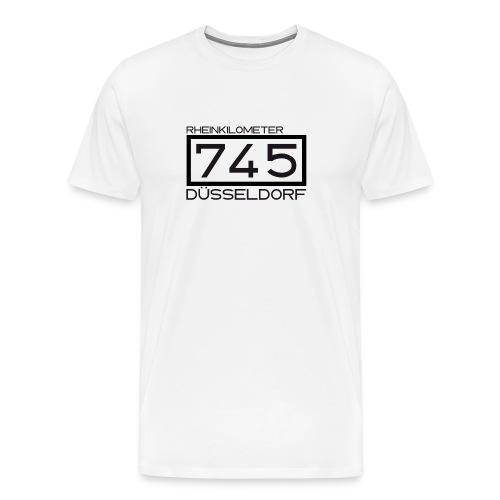 745-RK-Duesseldorf schwarz - Männer Premium T-Shirt