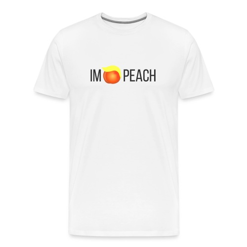 IMPEACH / BLACK - Men's Premium T-Shirt