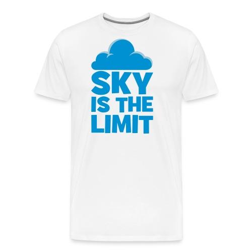 sky is the limit - T-shirt Premium Homme