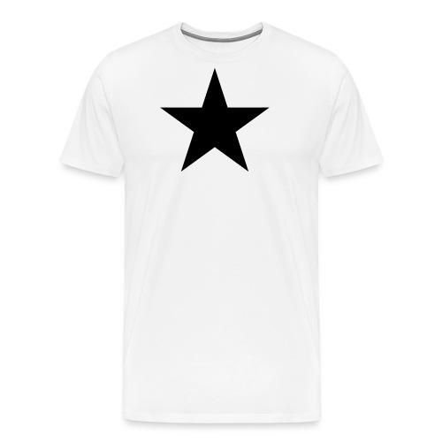 Schwarzer Stern, black star, Rock, Space, Heroes - Männer Premium T-Shirt