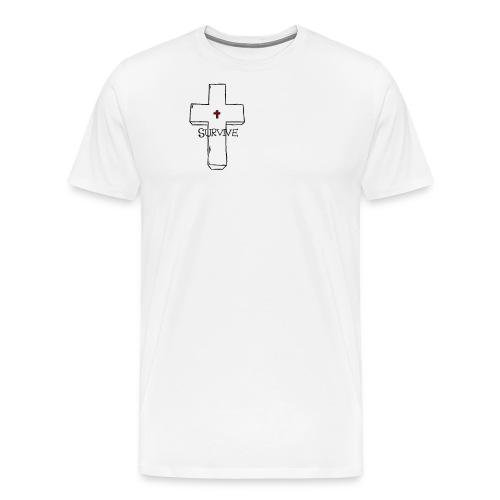 survive - Miesten premium t-paita