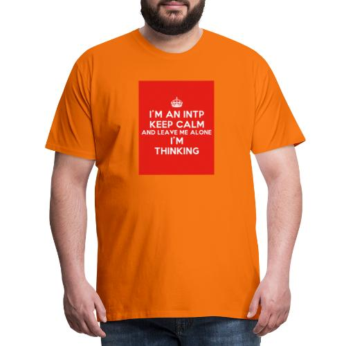 KEEP CALM 2 - Koszulka męska Premium