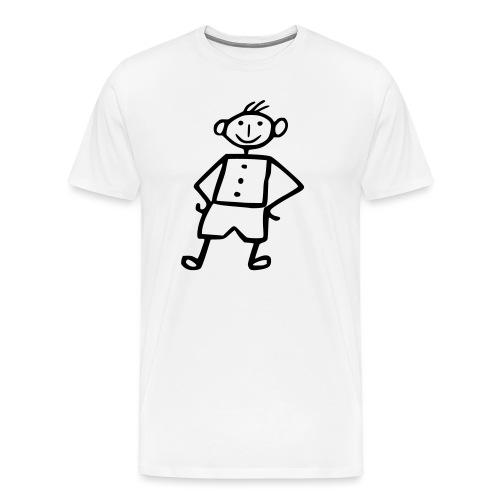 me-white - Männer Premium T-Shirt