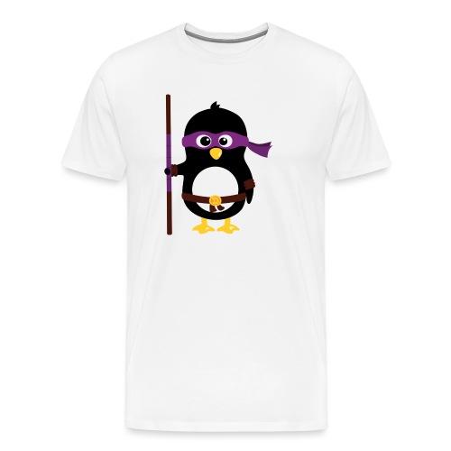 Pingouin ninja - T-shirt Premium Homme