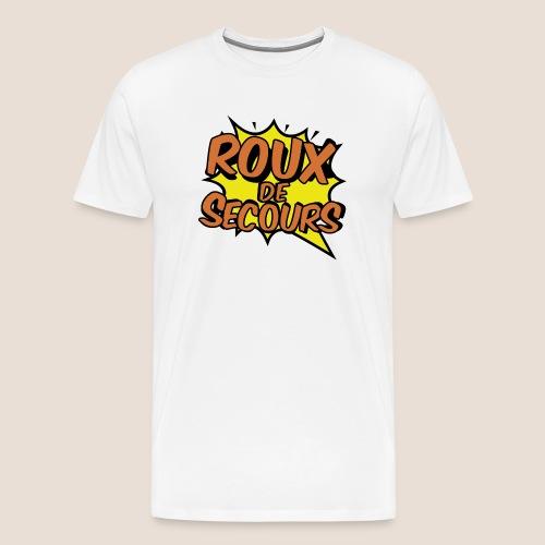 ROUX DE SECOURS COMIC STYLE - T-shirt Premium Homme